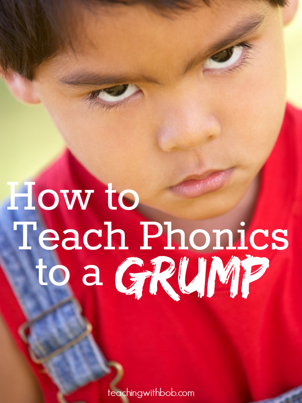 We've all been there, haven't way? Here are five ways to kick grumpiness to the curb and have successful daily phonics lessons.