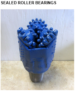 sealed-roller-bearings-tricone-drill-bit