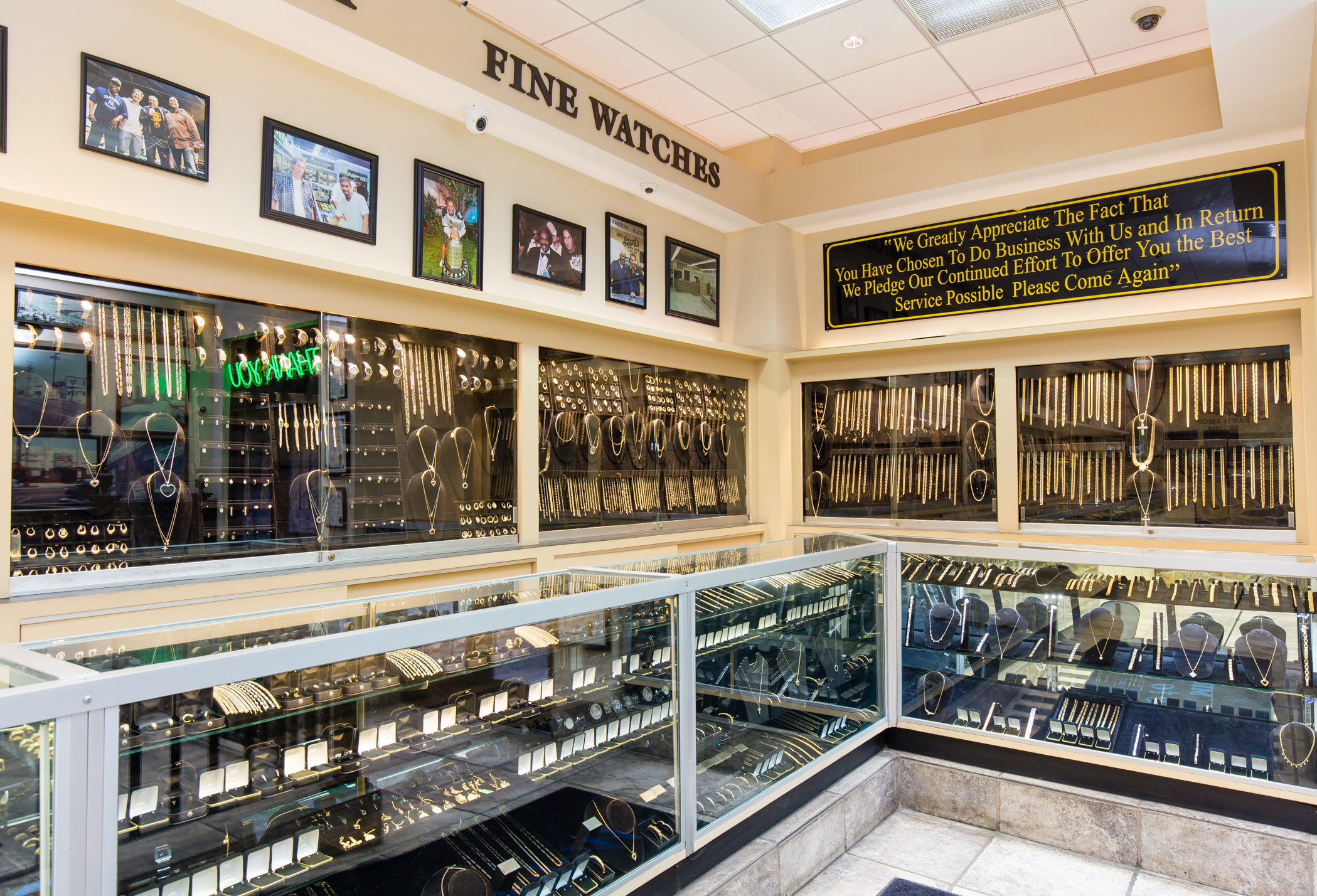 Mr. Steve's Pawnshop is a family owned and operated business. It has served the Los Angeles area or over 30 years.