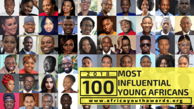 Photo of Top 100 Most Influential Young Africans In 2018