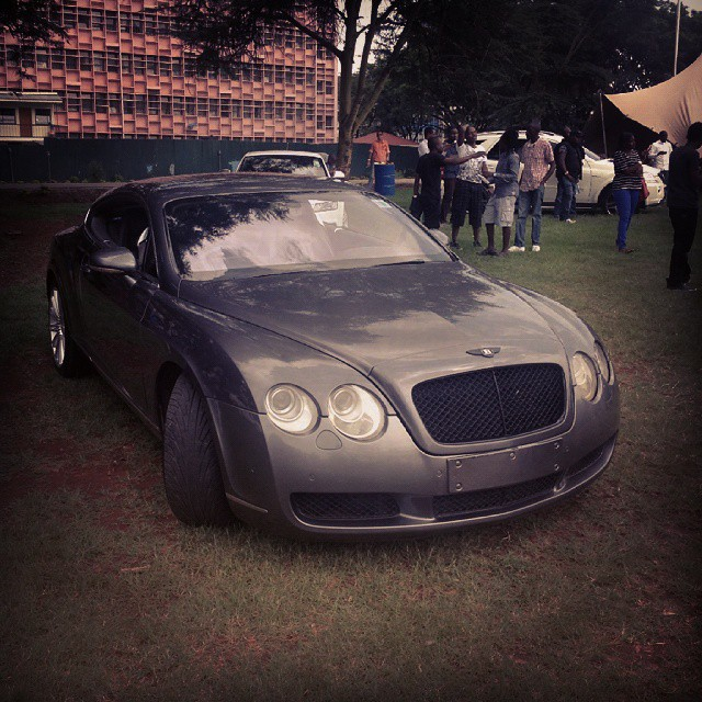Photo of 10 Celebs Who Own Few Available Bentley Cars In Kenya