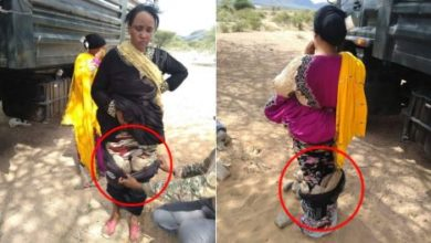 Photo of How Police Cornered Two Women Ferrying Bhang Wrapped In Buibui
