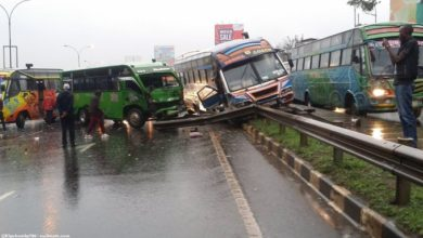 Photo of Thika Road Accident At Muthaiga In Pictures