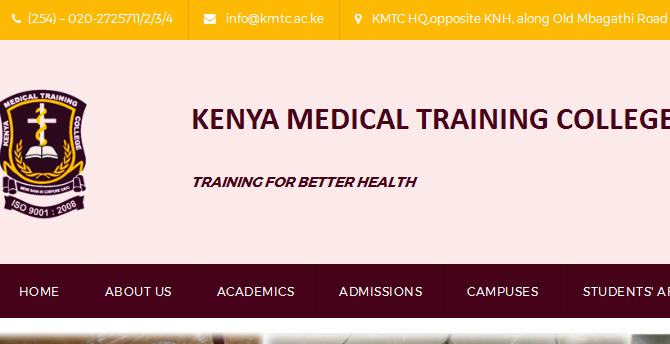 Photo of KMTC Hiring In 7 Departments