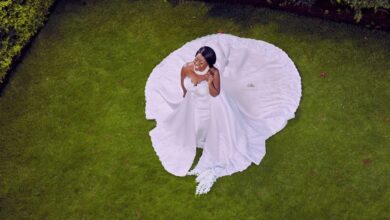 Photo of Kalekye Mumo Posts Wedding Photos At 46 Years