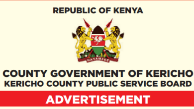 Photo of Kericho County Hiring In 23 Departments