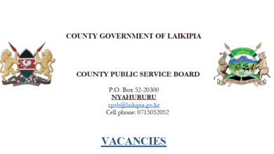Photo of Laikipia County Hiring In 20 Departments