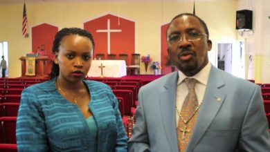 Photo of Video – Pastor Ng'ang'a Hurling Unprintable Insults To Bishops 'Targeting' Wife