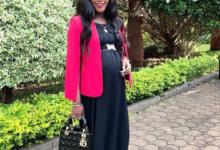 Photo of Sonko's Daughter Saumu Mbuvi Heavily Pregnant
