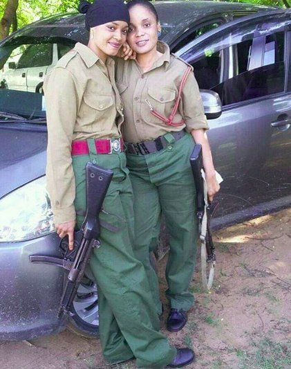 Image result for cute kenyan female police