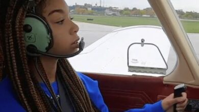 Photo of Meet The Youngest Pilot In The World, 16-Year Old Sydney-Marie
