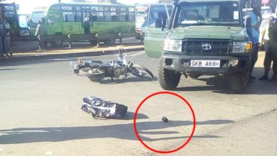 Photo of Five Suspected Thugs Hurl Grenade At Police During Arrest
