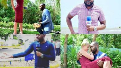 Photo of Photos – KTN Reporter Tobias Bags A White Girl