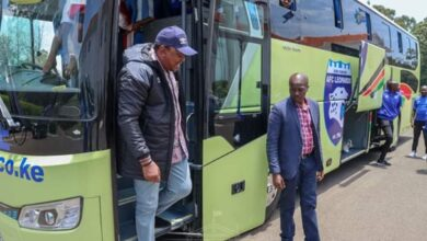 Photo of President Uhuru Gifts AFC Lepoards With Brand New Match-day Bus