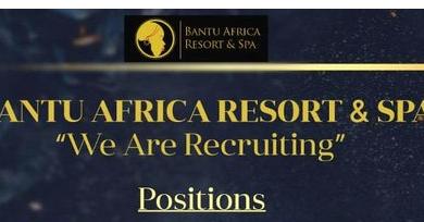 Photo of Bantu Resort Massively Hiring In 16 Departments