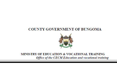 Photo of Bungoma County 2020 Education Scholarships Open For Applications