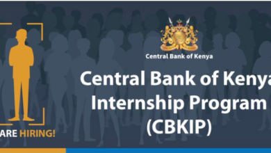 Photo of Central Bank of Kenya Internship Program 2020 Open