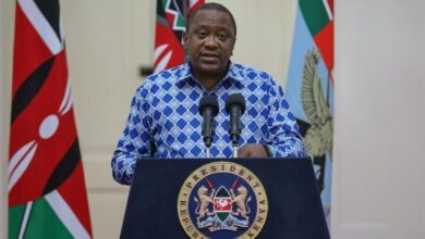 Photo of President Uhuru Designer Shirts That Stole Light Moments During COVID-19 Press Briefings