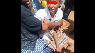 Photo of This Student Came Home Very Drunk In School Uniform Because Her Mother