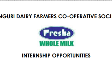 Photo of Internship Opportunity At Fresha Dairy Brands.