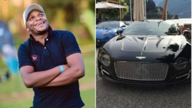 Photo of Jalas Brags As He Takes His Bentley Beast Out