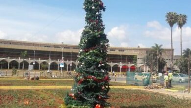 Photo of JKIA Christmas Tree Welcomes Foreigners To Kenya's Corruption Problems