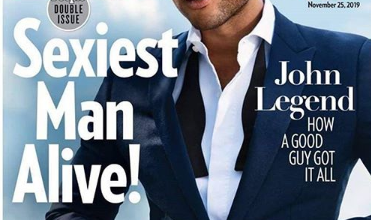 Photo of John Legend Wins Sexiest Man Alive In 2019 Award
