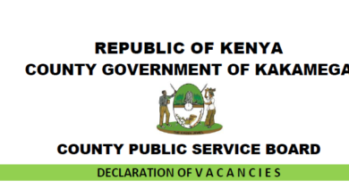 Photo of Kakamega County Hiring In 172 Vacancies