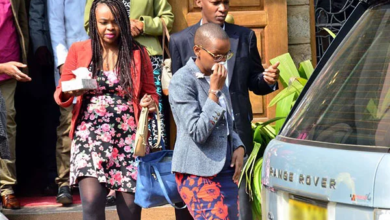 Photo of Wambui Kamiru Cuts Off Hair To Mourn Fallen Husband Bob Collymore