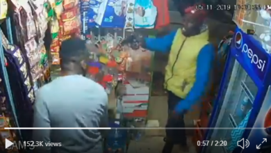 Photo of Watch As Armed Thugs Pump 8 Bullets Into An Innocent Customer In Kasarani