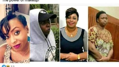 Photo of Hilarious Kenyan Celebrity Makeup Fails While In Police Cells