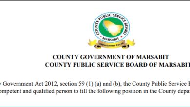 Photo of Marsabit County Hiring In 10 Departments