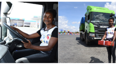 Photo of Meet Kenya's Youngest Long Distance Female Truck Driver