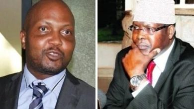 Photo of Attention Hungry Moses Kuria Towed By Miguna Miguna Like A Sack Of Garbage