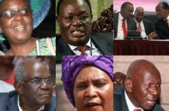 Photo of 14 Public Servants -Age Over 70 Years- Appointed By President Uhuru