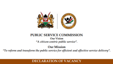Photo of PSC Hiring Data Protection Commissioner- Salary Kshs.621,500