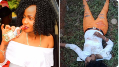 Photo of Heartbreaking Photos Of Before And After Heavy Drinking Of A Nairobi Slayqueen