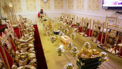 Photo of 5 Photos Of Sonko's Golden Boardroom