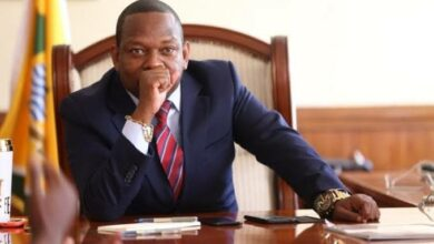 Photo of Watch As Police Overpower  Sonko's Mafia Before Arrest