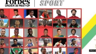 Photo of Top 30 Under 30 Sports Stars Listed On Forbes African Magazine 2019