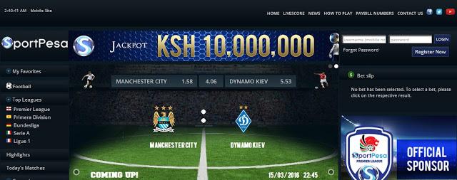 sportpesa betting site in kenya