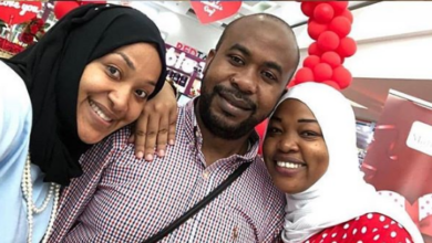 Photo of Man With 'Lucky Charm' Shares Photos Cuddling With His Wives