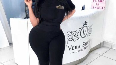 Photo of Vera Sidika Flashes Her Toned Legs As She Stepped Out In A Pantiless Dress