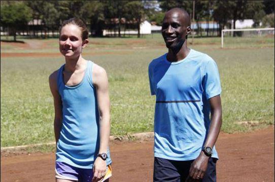 White ladies in kenya