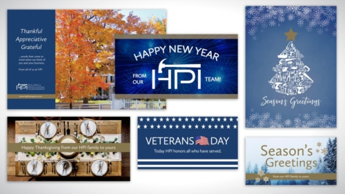 HPI Holiday Collage