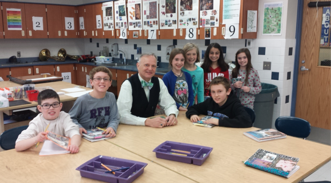 Author Offers Writer's Insight to Fair Haven Students, Parents