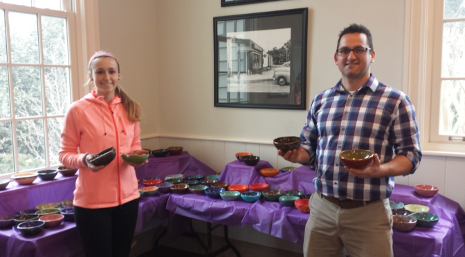 RFH Students Help Fill Thousands of 'Empty Bowls'