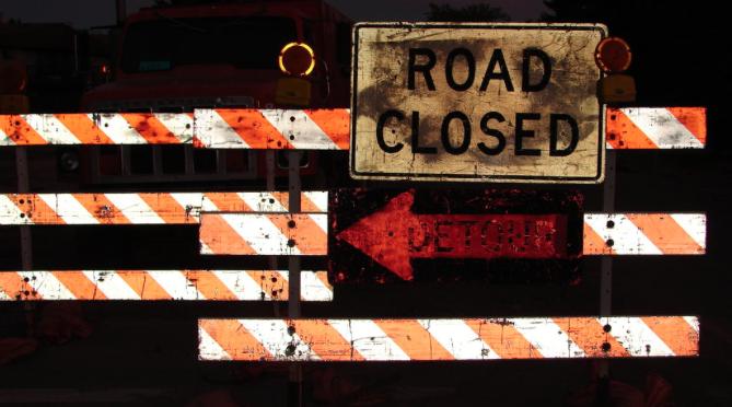 Detour: West Front Street Milling & Paving