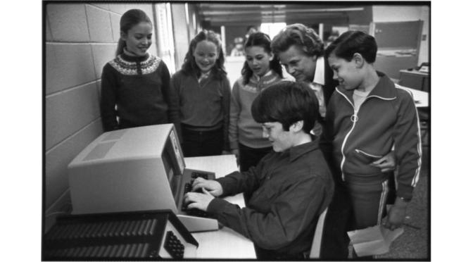Retro 'Register' School Tech Daze in Rumson