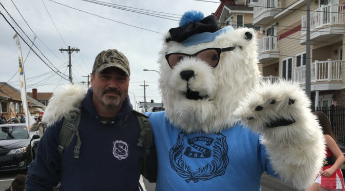 Rumson Police Chief Dives in and Surpasses Fundraising Goal